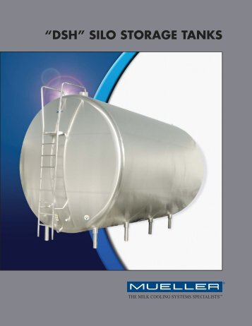 MC-293 Mueller DSH Silo Storage Tanks - Paul Mueller Company