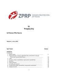 Przepisy gry w plażową piłkę ręczną - wersja pełna (Plik PDF)