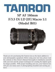 SP AF 180mm F/3.5 Di LD [IF] Macro 1:1 (Model B01) - Tamron