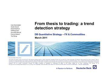 Statistics thesis
