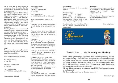 SKIHAJ aug. 06.pdf - Glostrup Skiclub