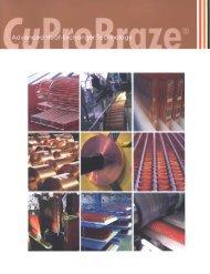 CuproBraze brochure