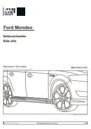 Ford Mondeo - Danspeed