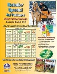 Retailer Special - Rocky Mountain Rider Magazine