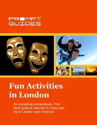 Fun Activities in London - Prompt Guides