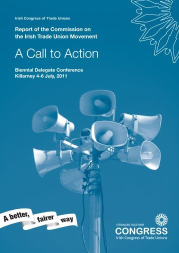 A Call to Action - Irish Congress of Trade Unions