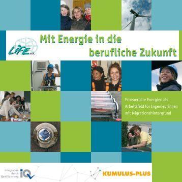 Mit Energie in die berufliche Zukunft - LIFE eV