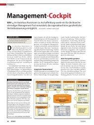 Management-Cockpit EDV - T - Systems International Gmbh