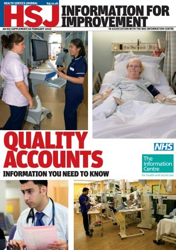 Information for Improvement supplement - Health Service Journal