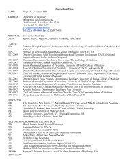 Curriculum Vitae - Harvard Medical School - Harvard University