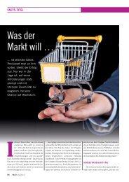 Was der Markt will … - FACTS Verlag GmbH