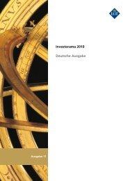 Investorama 2010 Deutsche Ausgabe