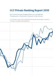 LGT Private Banking Report 2010