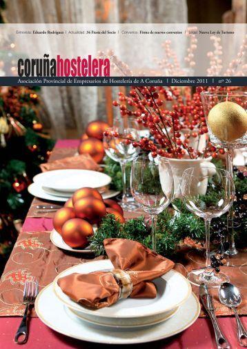 Revista Diciembre 2011 Nº 26 - Asociación de Hostelería de A Coruña