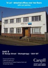 Unit 5 - Cargill Property Consultants