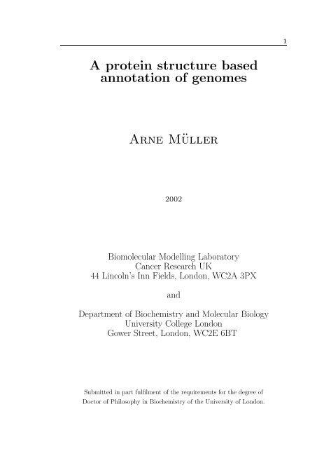 colour - Structural Bioinformatics Group