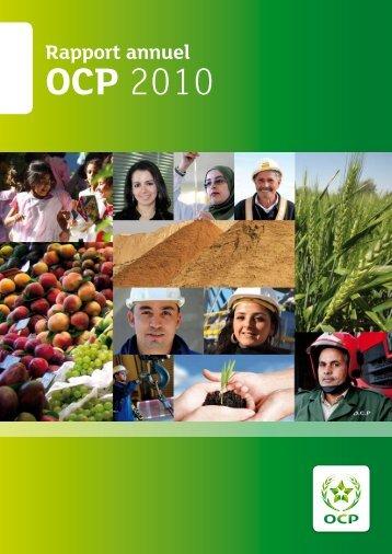 Rapport annuel 2010.pdf - ocp