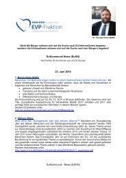 23. Juni 2010 - Dr. Thomas Ulmer MdEP