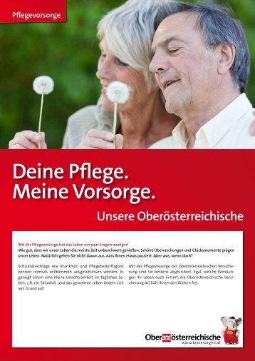 Pflegevorsorge - Oberösterreichische Versicherung AG