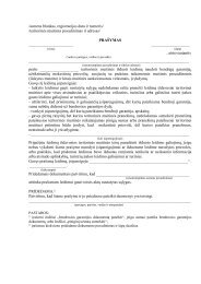 PraÃ…Â¡ymo forma pdf formatu