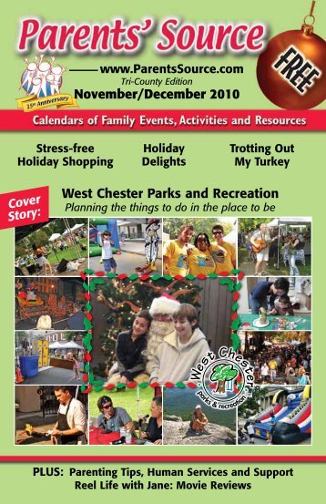 November/December 2010 West Chester Parks ... - Parent's Source