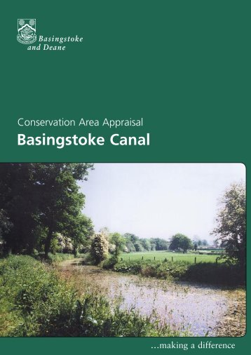 Conservation Area Appraisal for Basingstoke Canal