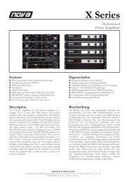 X Series 1 - NOVA by CRAAFT Audio
