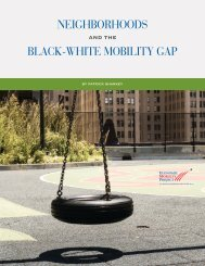 Neighborhoods and the Black-White Mobility Gap - HartfordInfo.org