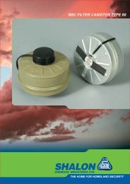 NBC FILTER CANISTER TYPE 80 - Shalon Chemical Industries