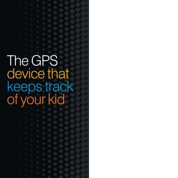 The GPS device that keeps track of your kid - KORE Telematics