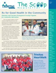Rx For Good Health In The Community - Trinitas Hospital