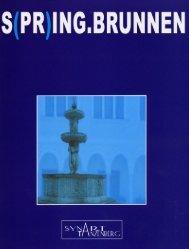 Katalog S(PR)ING.BRUNNEN