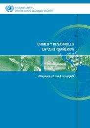 Crimen y Desarrollo en Centroamérica - United Nations Office on ...
