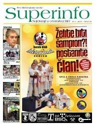 karate klub - Superinfo