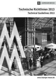 Technische Richtlinien 2013 - WorldSkills Leipzig 2013