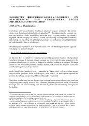 hoofdstuk iii. beschikkingsbevoegdheid en bescherming