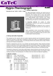 Hygro-Thermograph