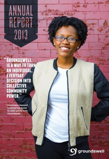 groundswell 2013 annual report