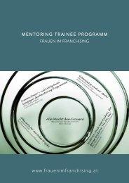Mentoring Trainee Programm - Frauen im Franchising