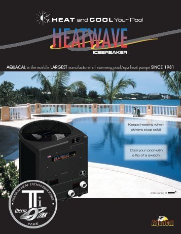HEAT and COOLYour Pool - Inyo Swimming Pool Products