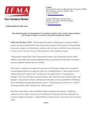 IFMA Launches CIE - June 9, 2011 - IFMAWorld.com