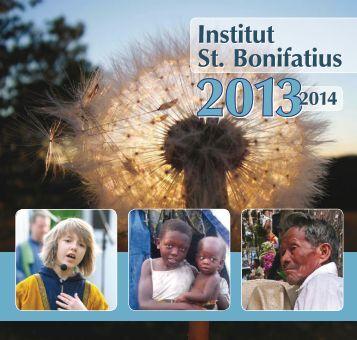 Rundbrief 2013/14 - Institut St. Bonifatius