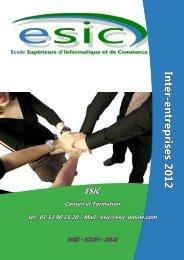 les formations inter-entreprises - Groupe ESIC