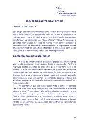 1/8 ESCRITÓRIO ENXUTO (LEAN OFFICE) Jeferson Duarte Oliveira ...