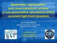 Systematic regularization scheme in non-perturbative calculations ...