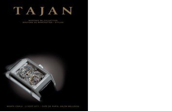 Montres de Collection- Monte-Carlo - Tajan