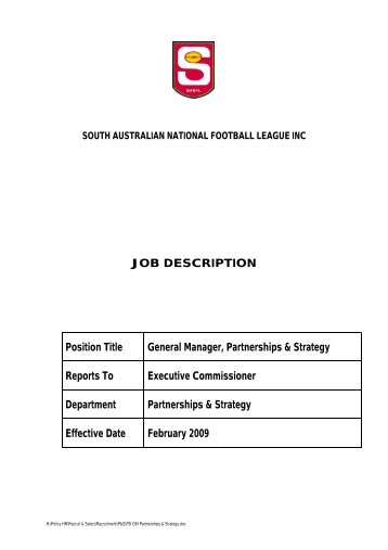 Job Description Job Title Position Day Services Manager D