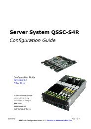 QSSC-S4R Server System Product Guide - CTL