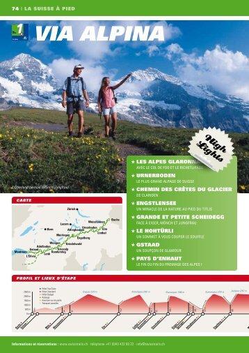 ViA AlPinA - Swiss Trails
