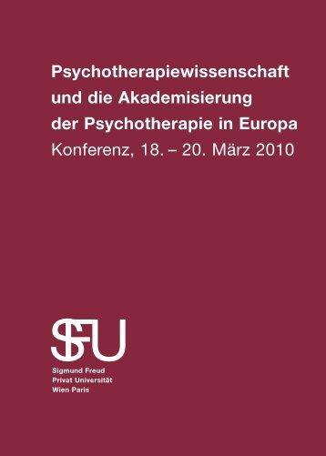 Psychotherapie wissen schaft und die Akademisierung der Psycho ...